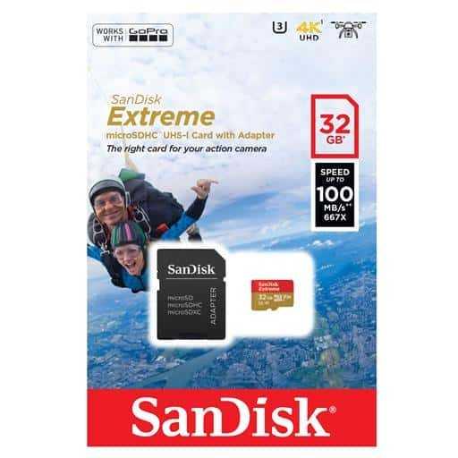 Carte Memoire Sandisk 08Gb Micro Sd Sdsdqm-008G-B35a